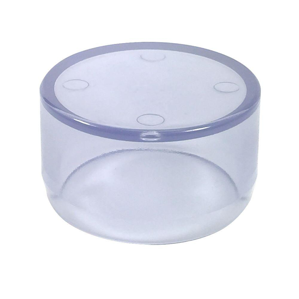Formufit in furniture grade pvc external flat end cap