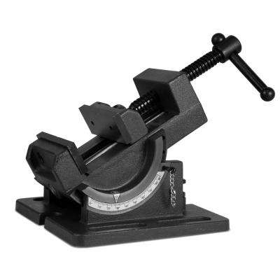 3.25 in. Industrial Strength Benchtop and Drill Press Tilting Angle Vise