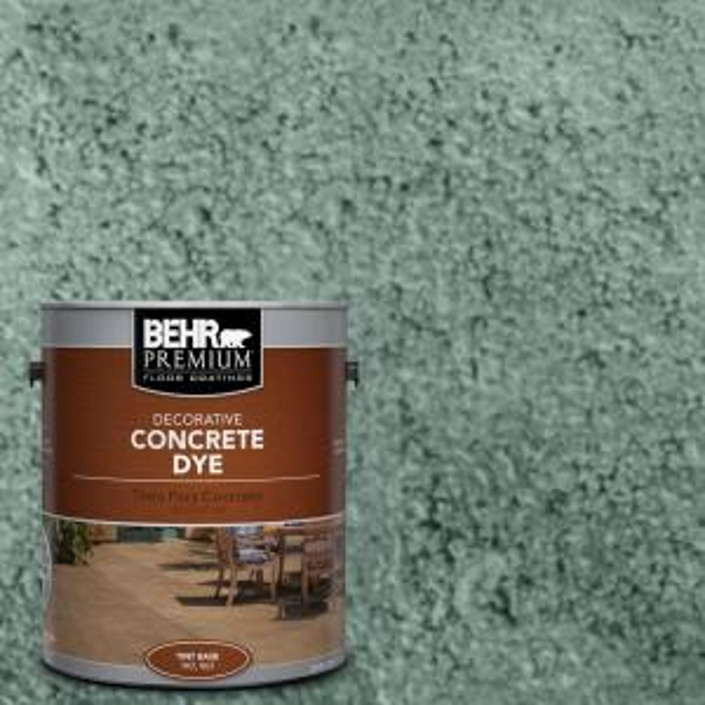 1 gal. #CD-822 Emerald Pool Concrete Dye