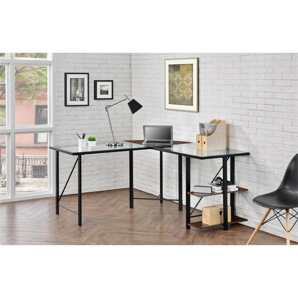 Altra Furniture Cruz Black Desk by Altra Furniture