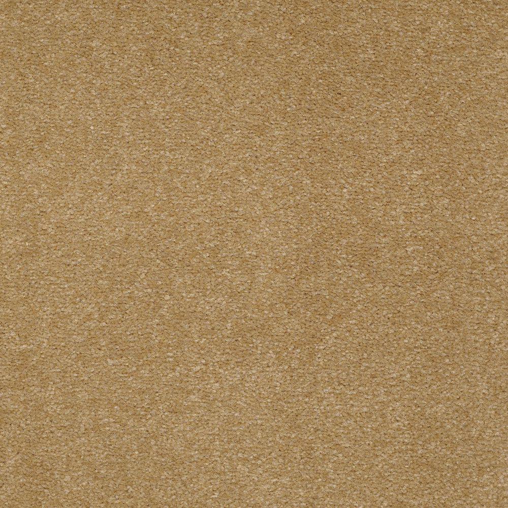 Carpet Sample - Overdrive II - Color Cedar Chip Texture 8 in. x 8 in.