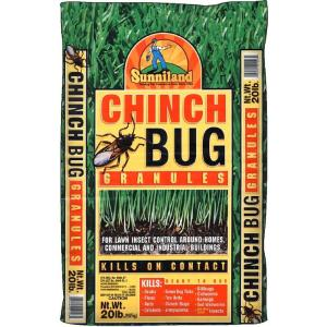 Sunniland 20 Lb Ready To Use Chinch Bug Granules 224026