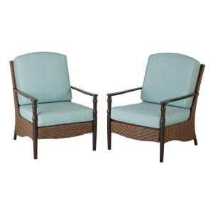 Hampton Bay Bolingbrook Stationary Patio Dining Chairs Pack