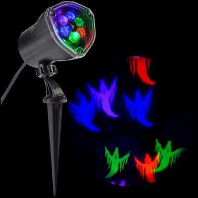 LED Projection Chasing Ghost Strobe Multi-Color Spotlight