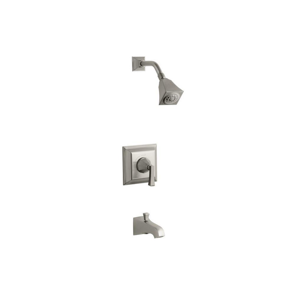 KOHLER Memoirs Stately 1-Handle Tub and Shower Faucet Trim Kit in ...