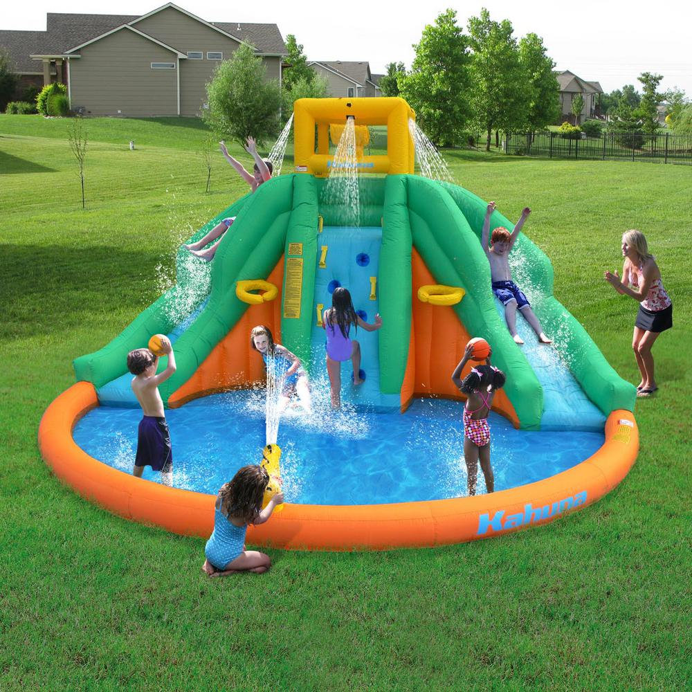 Twin Peaks Kids Inflatable Splash Pool Backyard Water