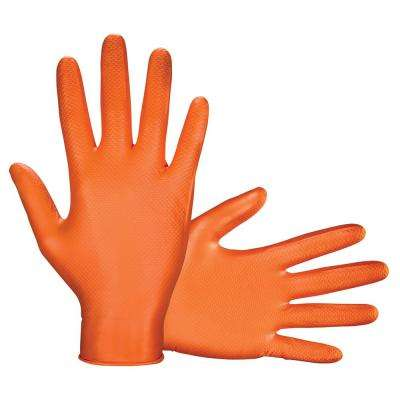 Large Astro-Grip Powder-Free 7 Mil Nitrile Disposable Gloves (100 Gloves/Box)