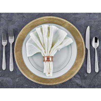 Gold Charger Plate (Set of 8)