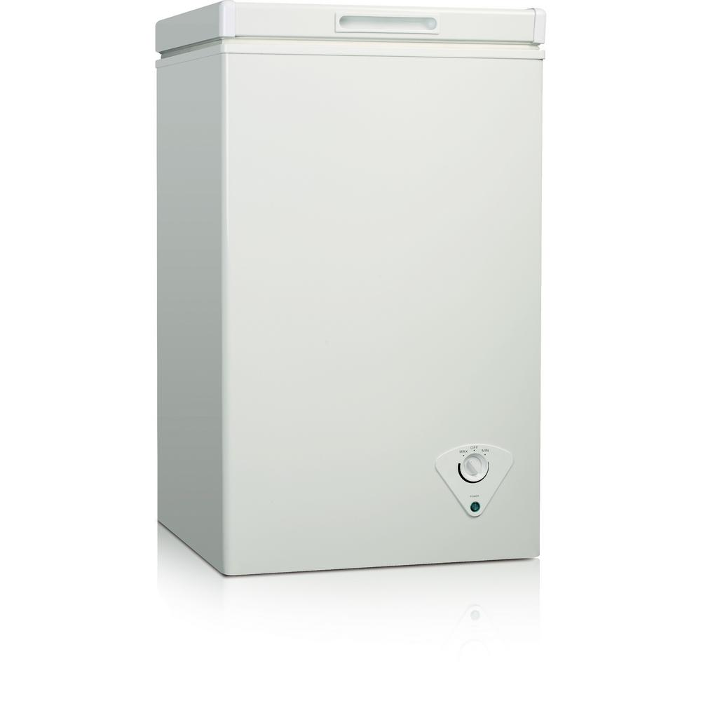 21 cu ft chest freezer in white