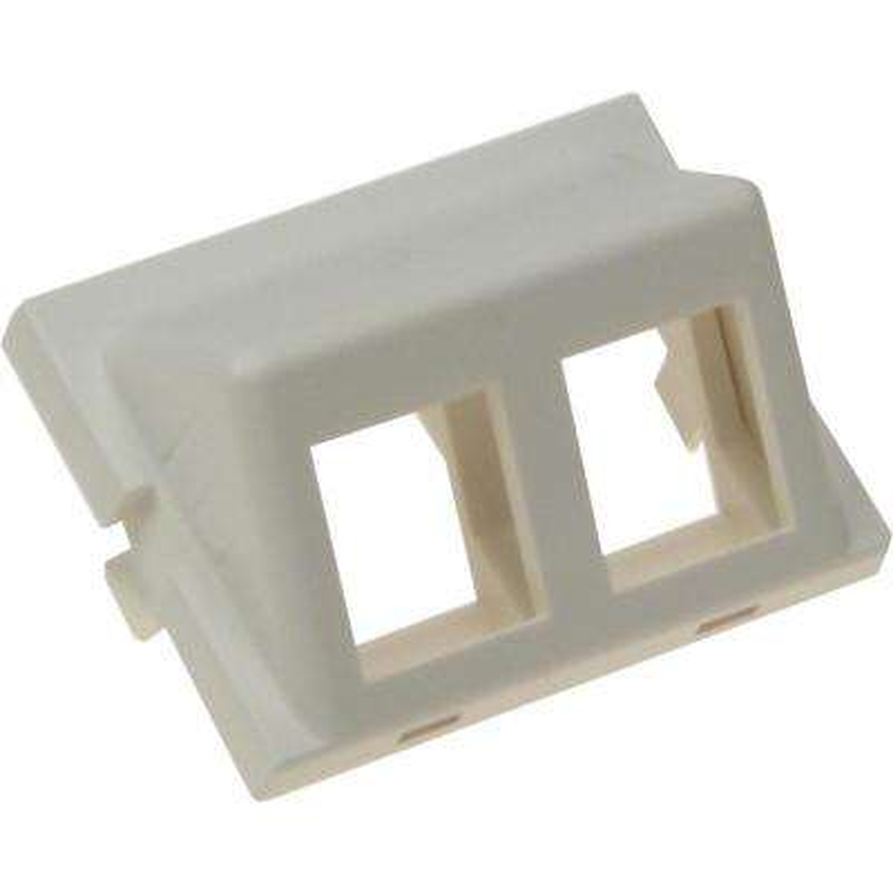 2-Port Angled Keystone Unimedia Module