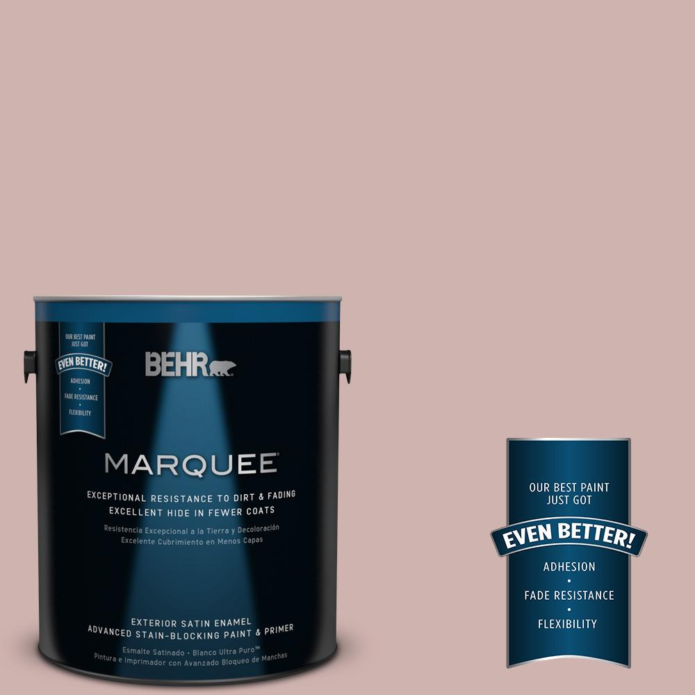 BEHR MARQUEE 1-gal. #180E-3 Plymouth Notch Satin Enamel Exterior Paint