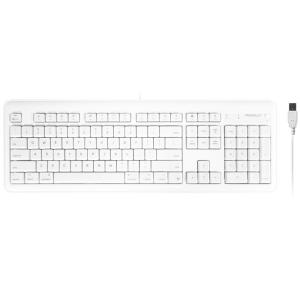 Macally Slim USB Wired Small Compact Mini Computer Keyboard