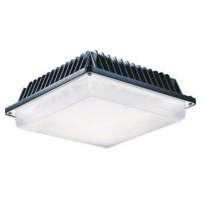 ProLED 33-Watt Bronze Integrated LED Low Profile Canopy Area Light Fixture