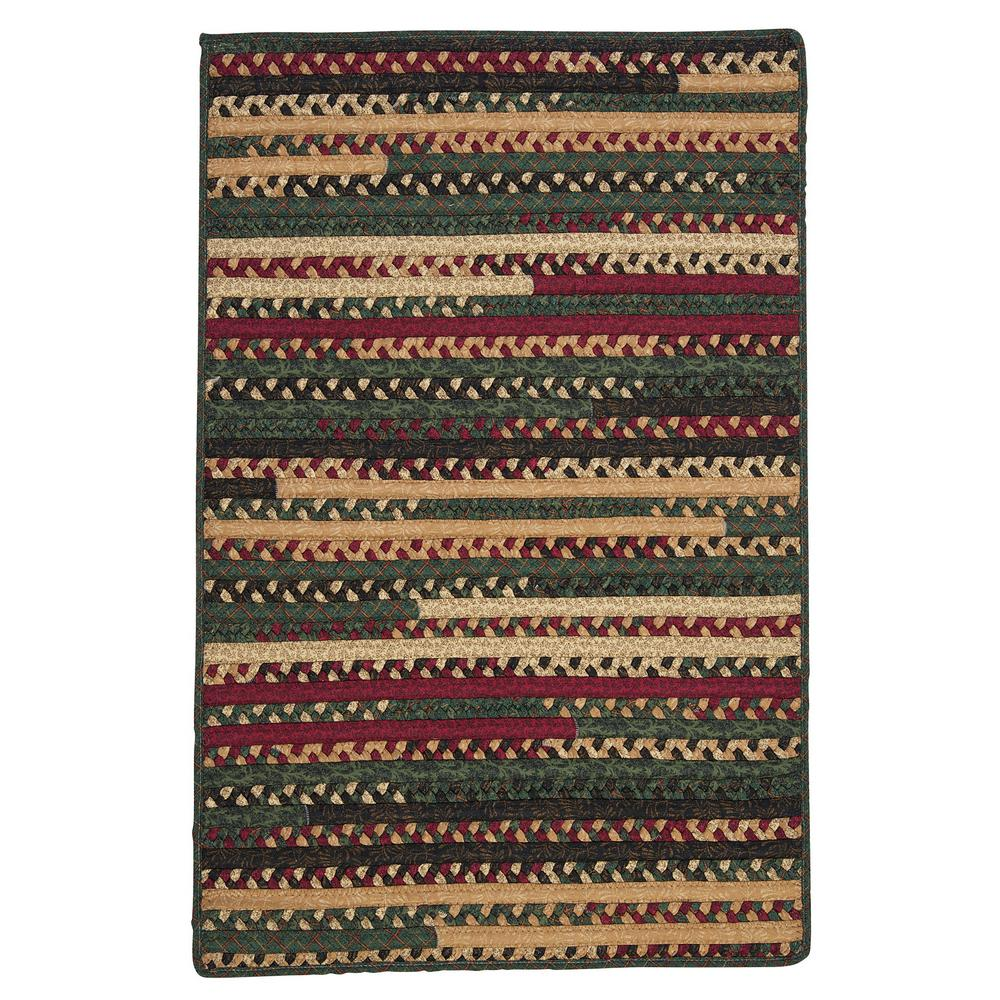Home Decorators Collection Hearth Rectangular Winter 3 Ft 6 In X 5 Ft 6 In Braided Area Rug