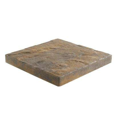 Taverna 16 in. L x 16 in. W x 50 mm H Square Ozark Blend Concrete Step Stone ( 72-Piece/124 Sq. ft./Pallet )