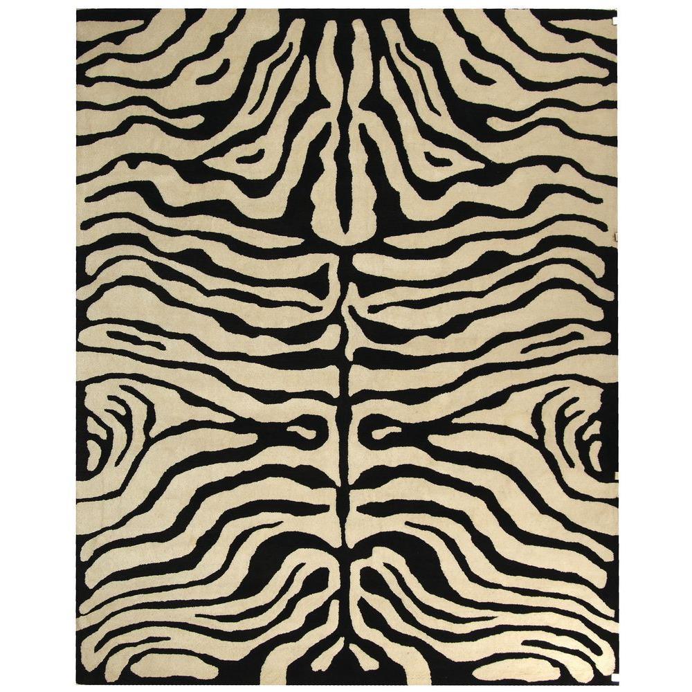 Safavieh Soho Black/White 2 ft. x 3 ft. Area Rug
