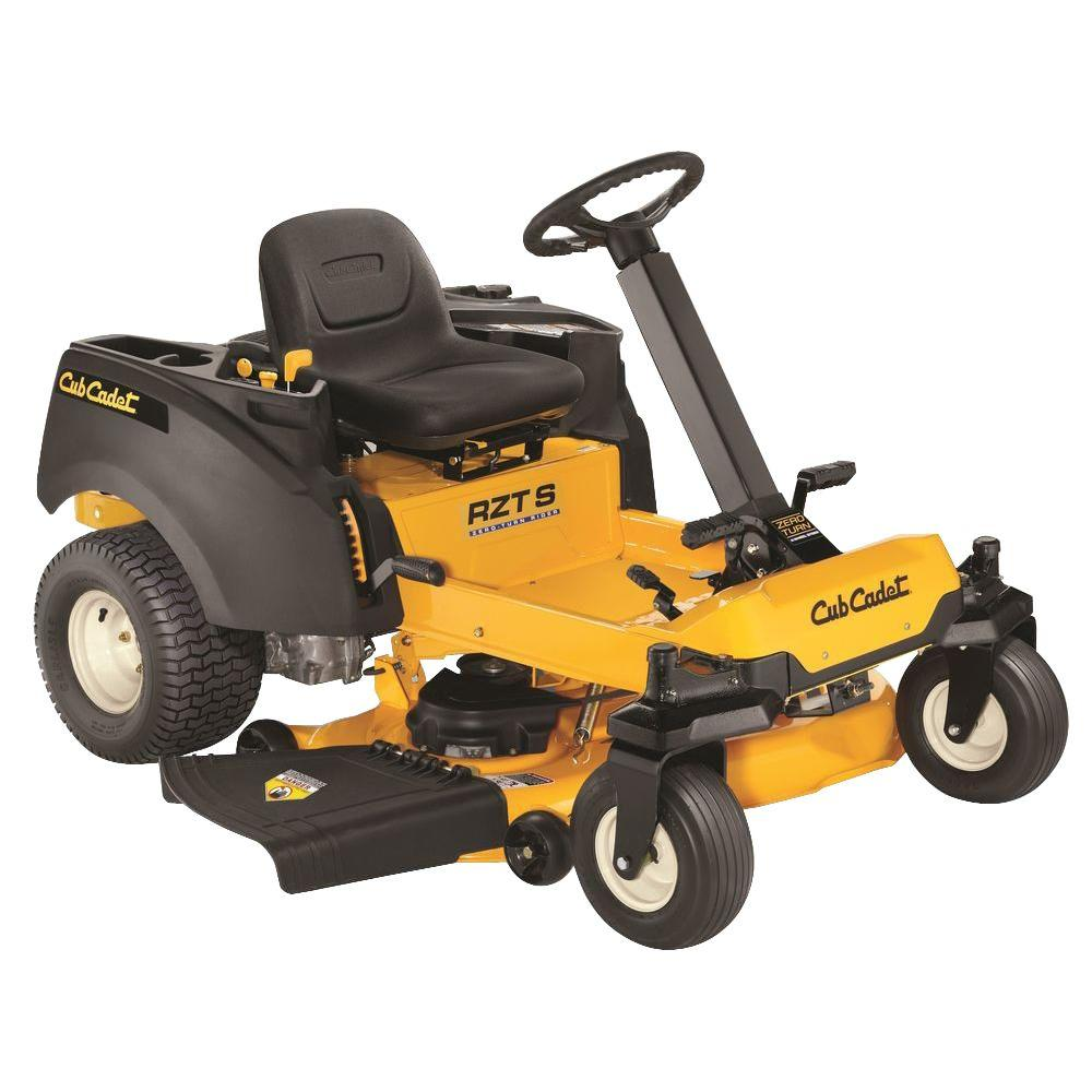 Cub Cadet RZT S 46 in. 23 HP V-Twin Dual Hydrostatic Gas Zero-Turn Riding Mower with Steering Wheel Control