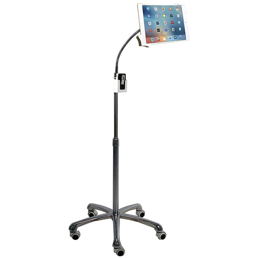 Heavy-Duty Gooseneck Floor Stand for 7 in. - 13 in. Tablets