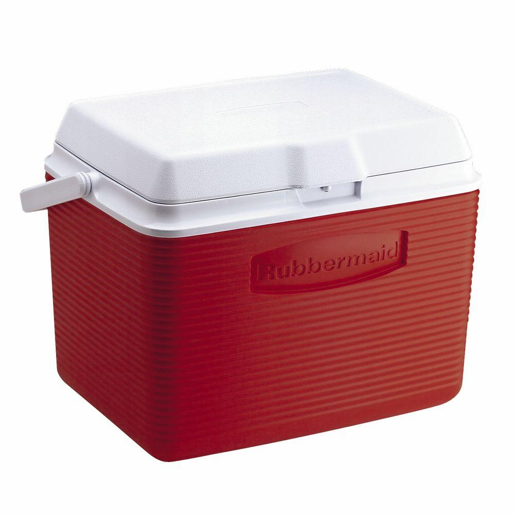 Rubbermaid 24 qt. Red Cooler
