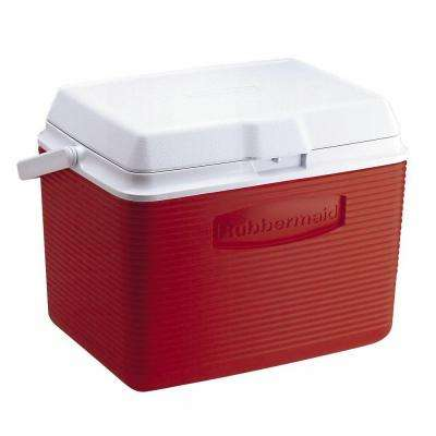 24 Qt. Modern Red Cooler