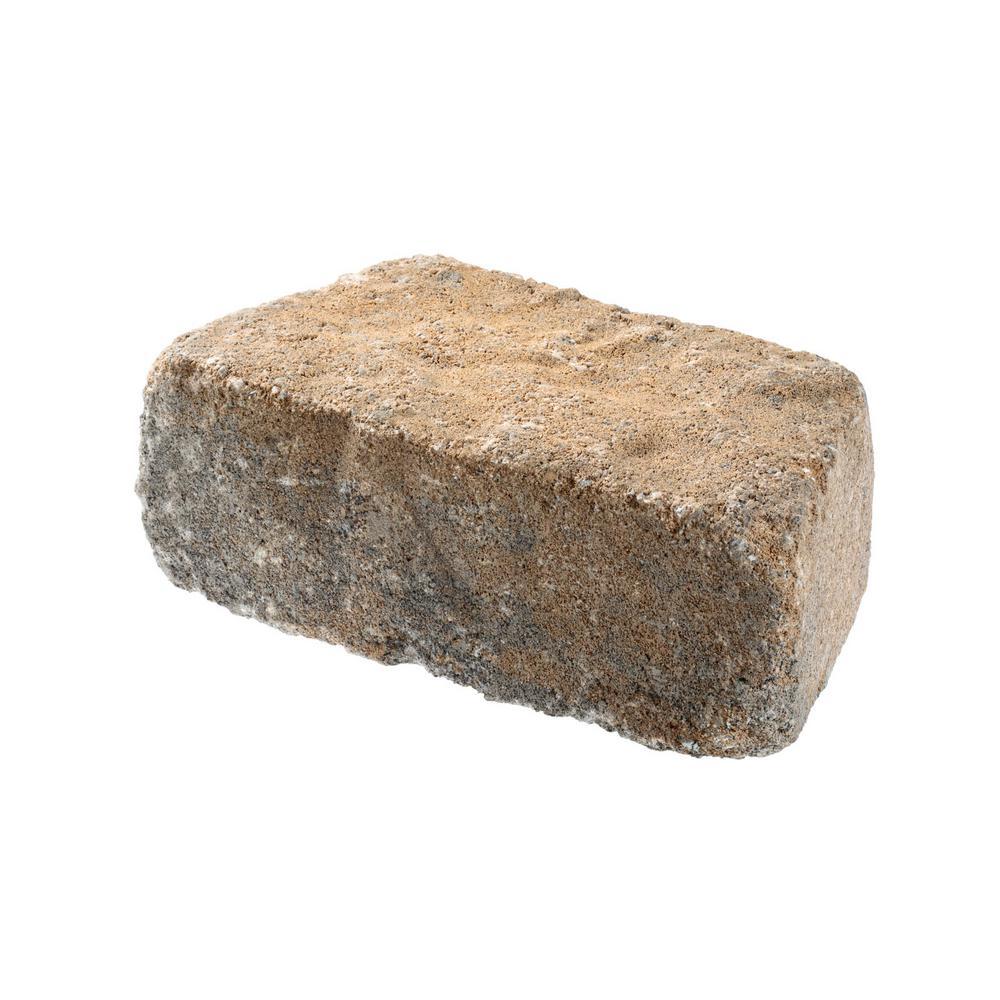 Beltis 4 in. x 11 in. x 6 in. Harbor Concrete Retaining Wall Block Pallet (140-Pieces/Pallet)