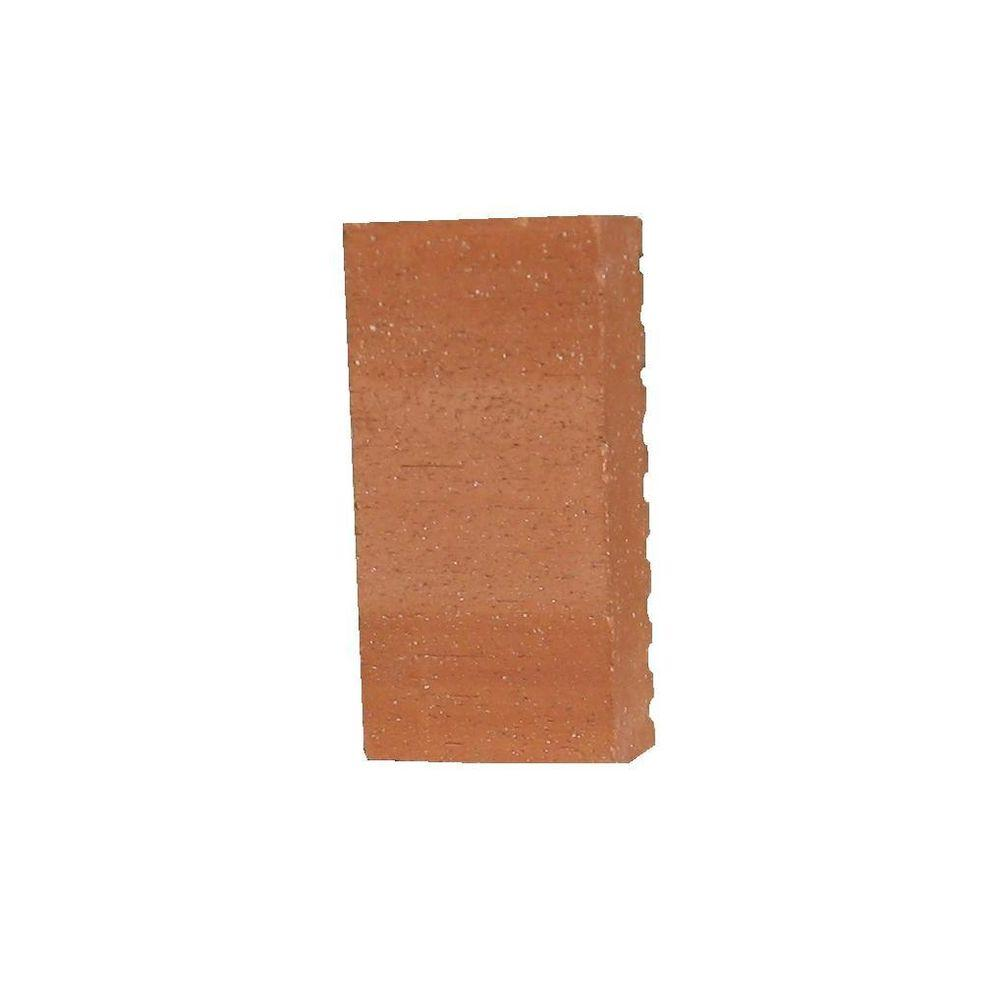 4 in. x 8 in. Terracotta Ceramic Paver