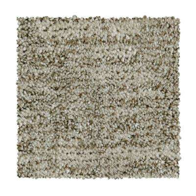 8 in. x 8 in. Pattern Carpet Sample - Corry Sound - Color Nougat