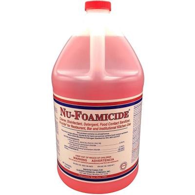 EPA Registered 1 Gal. All-Purpose Cleaner Concentrate, Makes 32 Gal. of Disinfectant/Food-Contact Sanitizer/Virucide