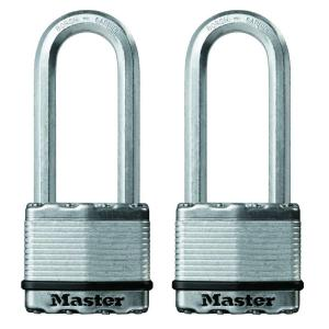 Master Lock Magnum 2 inch Laminated Steel Padlock with 2-1/2 inch Shackle... by Master Lock