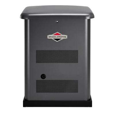 12,000-Watt Automatic Air Cooled Standby Generator with 200 Amp Transfer Switch