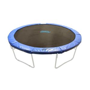 w blue premium trampoline safety pad spring cover fits for 14 ft upper bounce