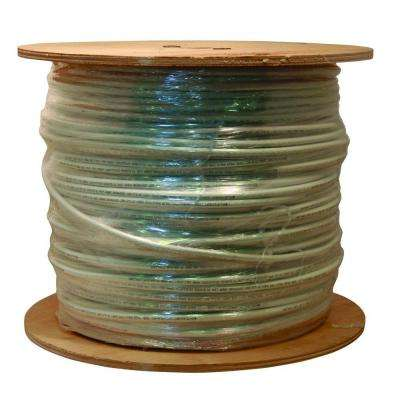 1000 ft. White RG6 18 AWG Coaxial Cable