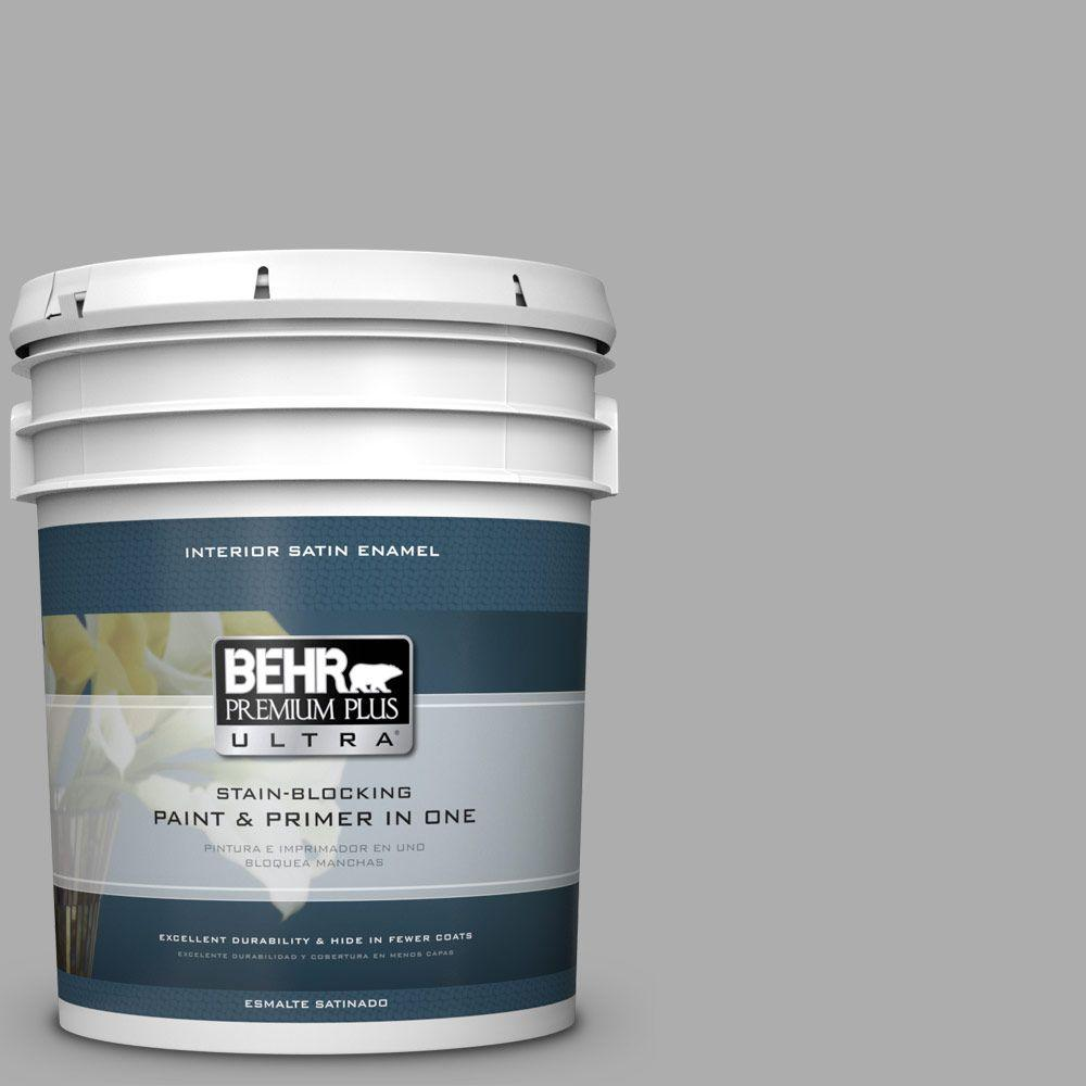 5 gal. #HDC-NT-27A Soft Pebble Satin Enamel Interior Paint