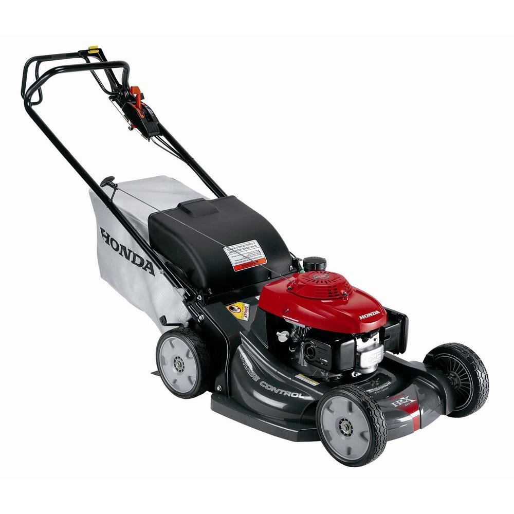 honda gcv   variable speed walk  gas  propelled mower hrxhya  home depot