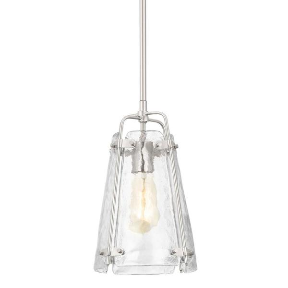 Archdale 1-Light Brushed Nickel Mini-Pendant
