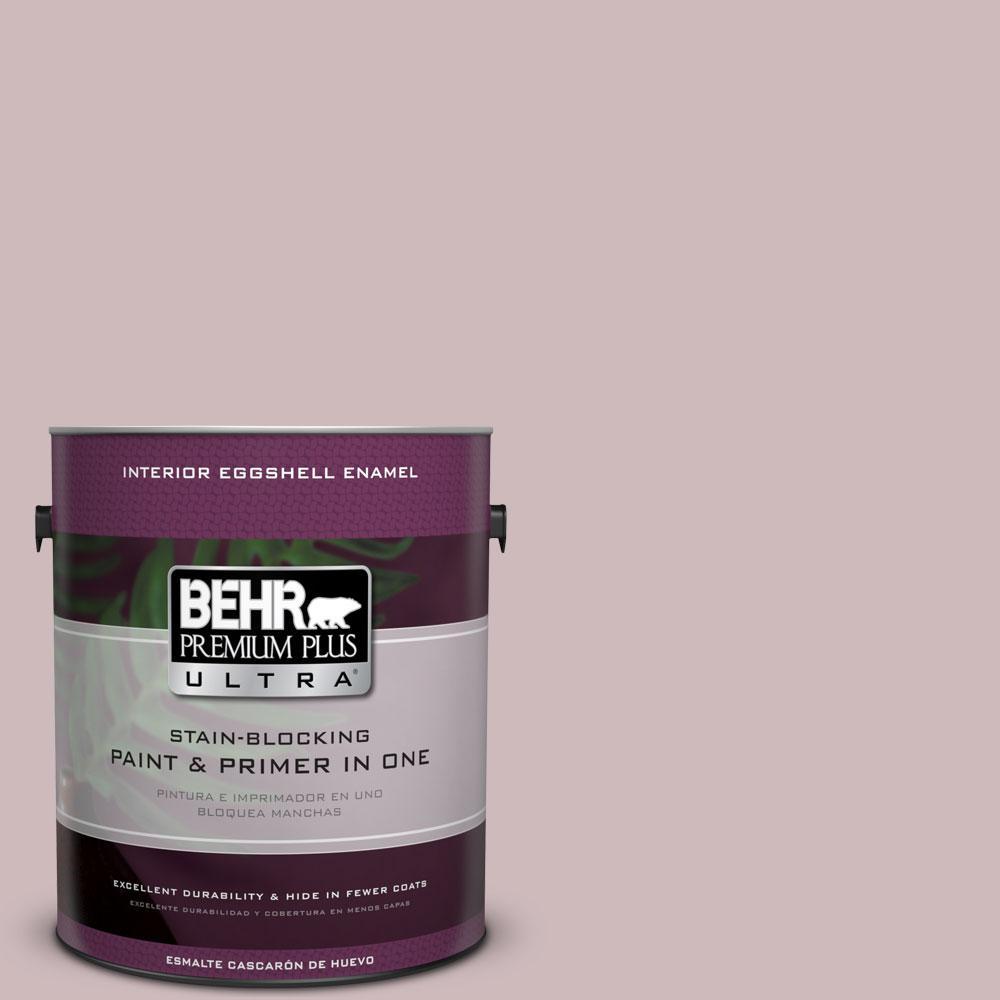 BEHR Premium Plus Ultra 1-gal. #N120-3 Mauve It Eggshell Enamel Interior Paint