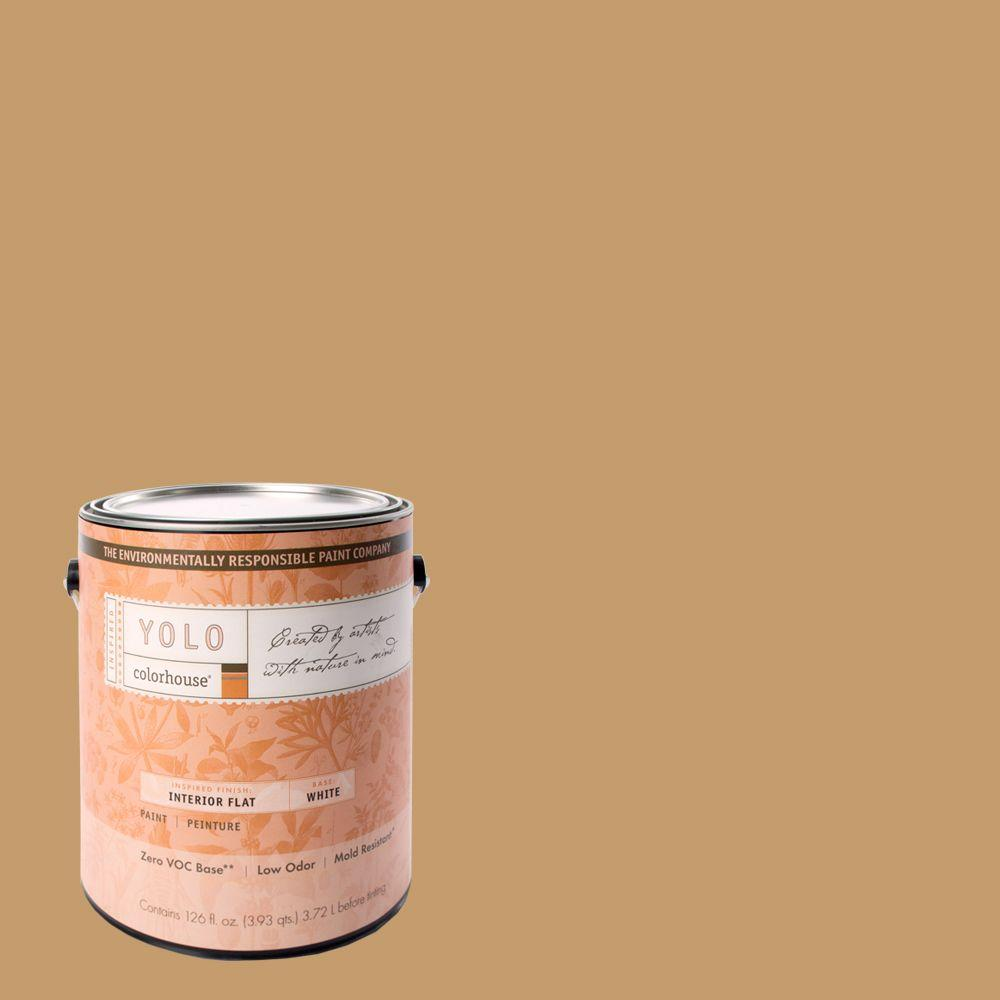 YOLO Colorhouse 1-gal. Clay .01 Flat Interior Paint-DISCONTINUED