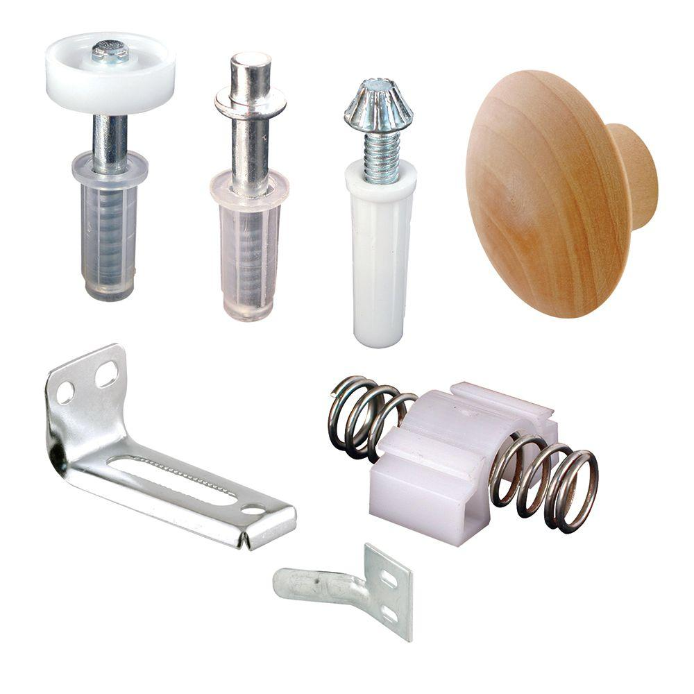 Bi Fold Door Hardware Closet Door Hardware The Home Depot