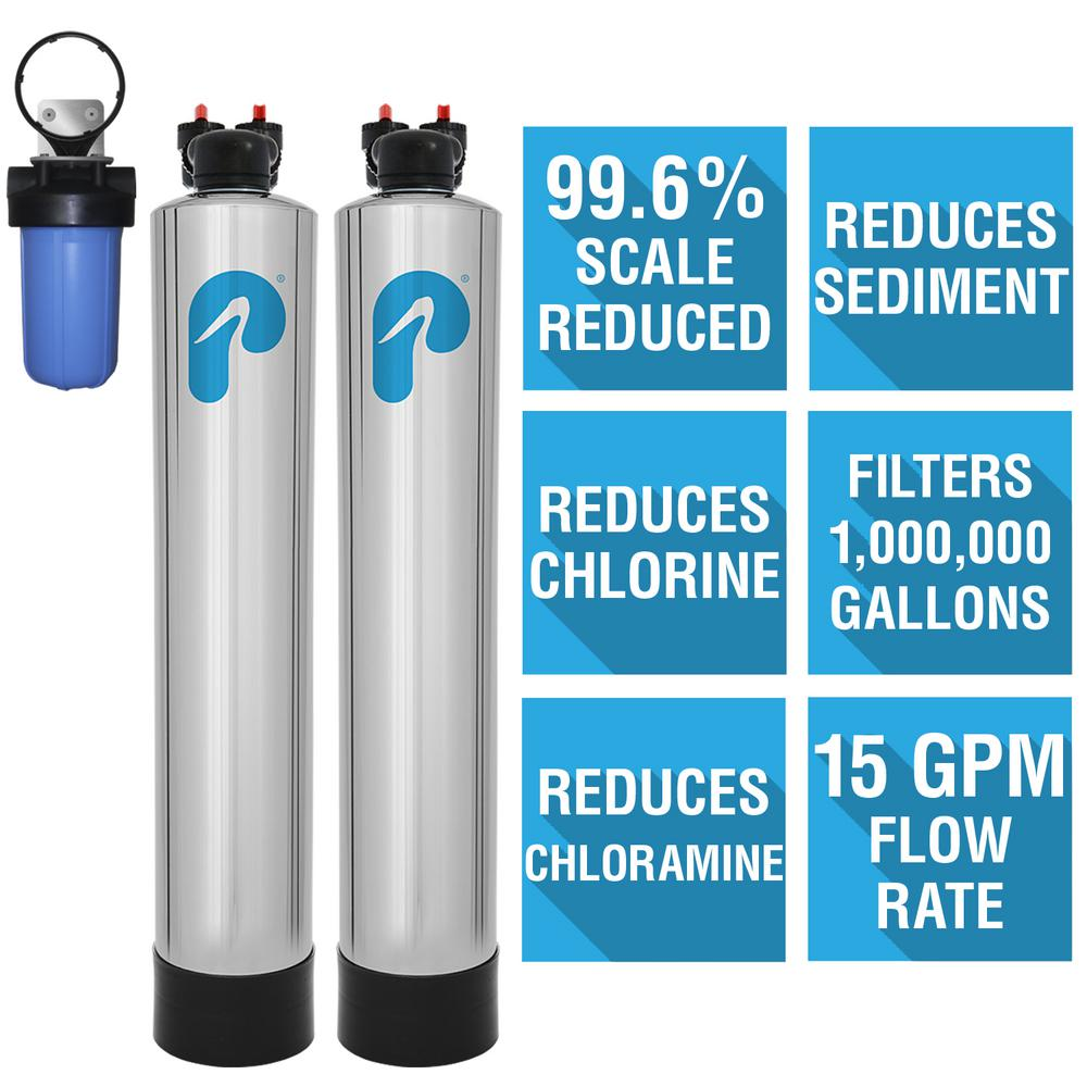 Pelican Water 15 Gpm Whole House Water Filtration And