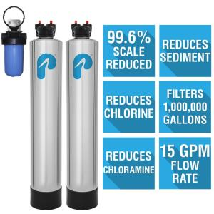 Pelican Water 15 GPM Whole House Water Filtration and NaturSoft Salt-Free Softener System by Pelican Water