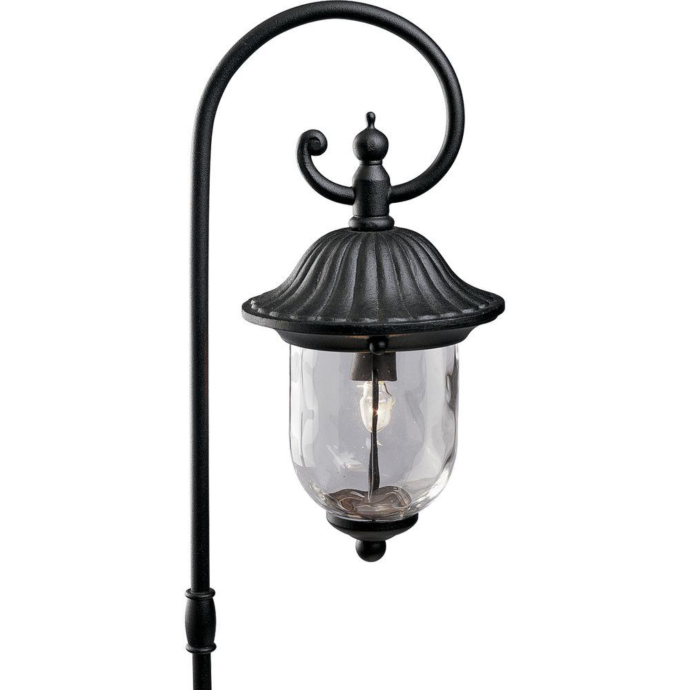 Progress Lighting Low Voltage Coventry Collection Black Landscape Pathlight
