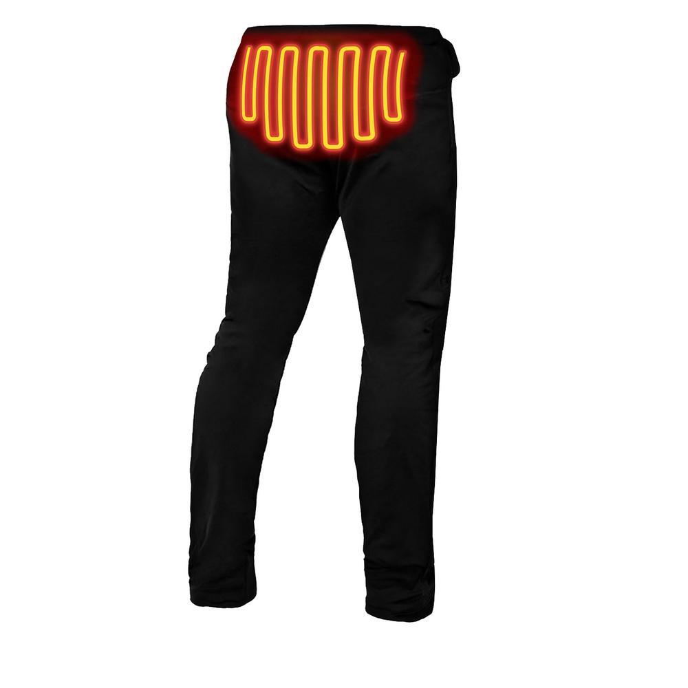 3f50eb1f3db19 ActionHeat Women's X-Large Black 5V Heated Base Layer Pants-AH-BLP ...