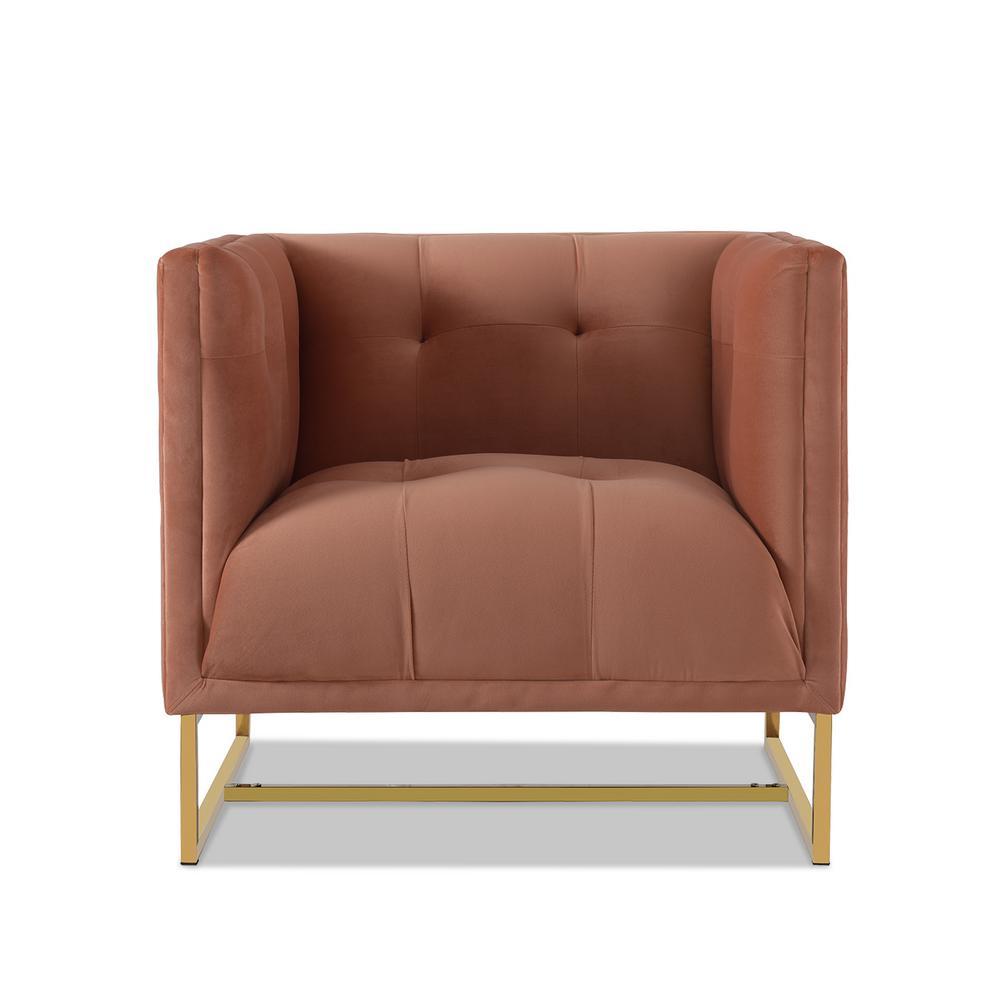 Royce Orange Accent Chair