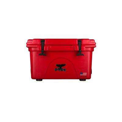 ORCA Red/Red 26 Qt. Cooler
