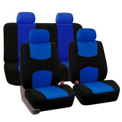 Flat Cloth 43 in. x 23 in. x 1 in. Full Set Seat Covers