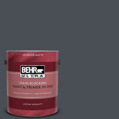 1 gal. #PPU25-22 Chimney Matte Interior Paint and Primer in One