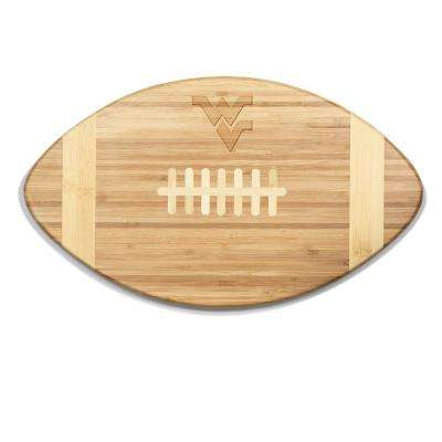 West Virginia Mountaineers Touchdown Bamboo Cutting Board