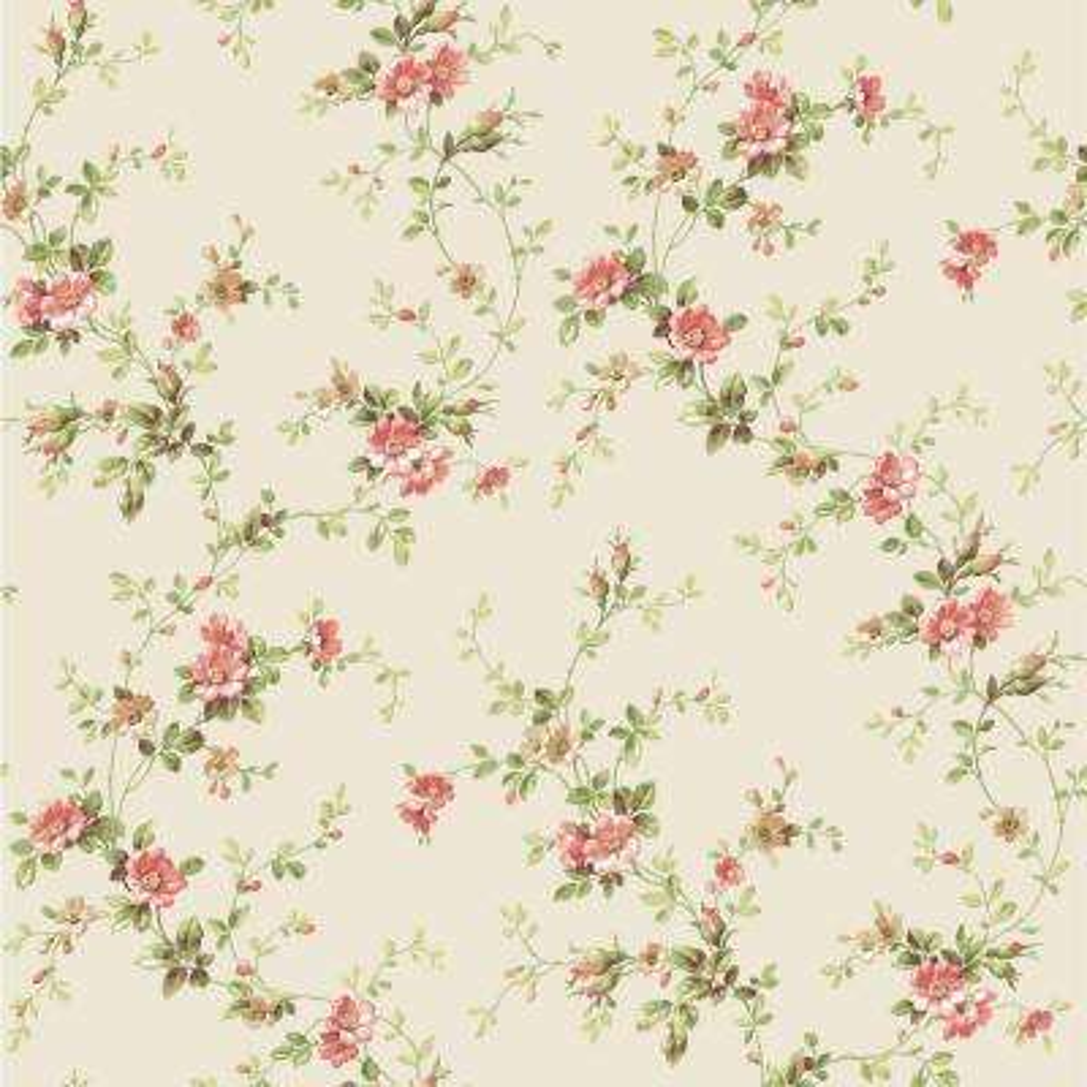 Floral Wallpaper Fair Peelable Paper  Redorange  Floral  Wallpaper  Wallpaper Design Inspiration