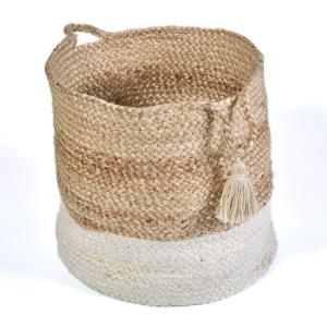 Natural Jute Decorative Storage Basket