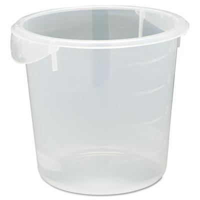 4 qt. Clear Round Storage Container